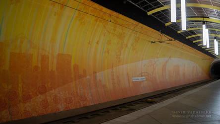 Orange tunnel by DevinShadowV
