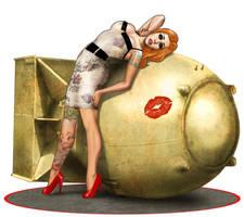 Bombshell Lisa by ArtbroSean