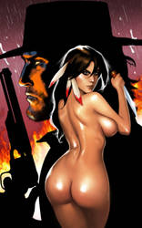 Blackshot: The Deathtrap Girl cover by ArtbroSean