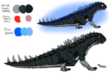 Godzilla Absolute - InfantGoji Reference by ABSOLUTEWEAPON