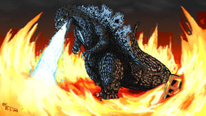 GOJIRA - In Flames - by ABSOLUTEWEAPON