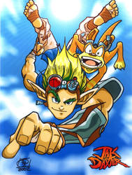 Jak and Daxter by Kenpudiosaki