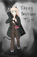 Happy Birthday from Nikaido by winterwolf38