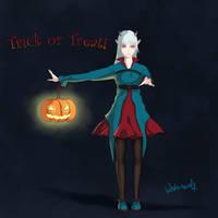 Happy Halloween 2014 by winterwolf38