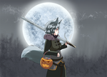 Halloween Momiji Witcher by winterwolf38