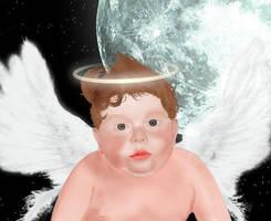 baby angel by Vigasse