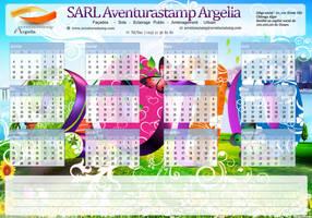 calendar 2010 by Vigasse