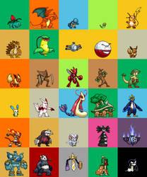 Lisnovski's Pokemon Sprites by Lisnovski