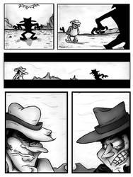 A Cowboy Comic Test by Mr-Toontastic