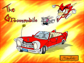 The Groovemobile! by Mr-Toontastic