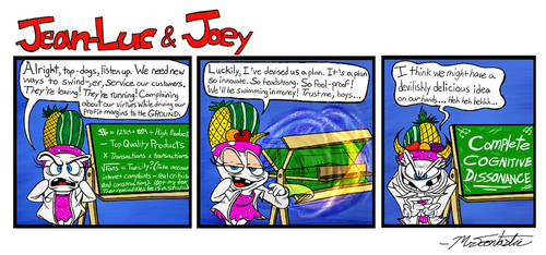 Julie's Superb Strategy for Economic Success! by Mr-Toontastic