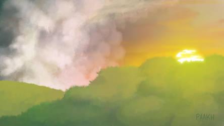 Sunset by Kajenx