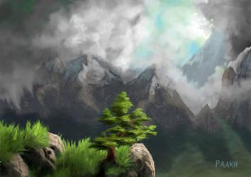 Mountains by Kajenx