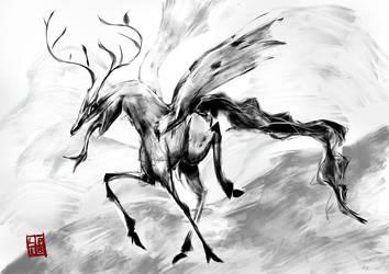 Dragon Horse by Kajenx