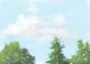 Partly Cloudy by Kajenx