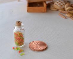 Gummy Worms 1:12 Scale by TheMiniatureBazaar