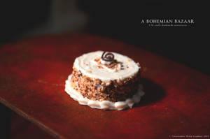 Bakery-Style Cake - 1:12 Scale Miniature by TheMiniatureBazaar