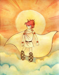 Sun God by inertbiscuit