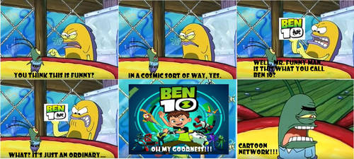 OH MY GOODNESS!!! Ben 10 reboot by Alexmination98