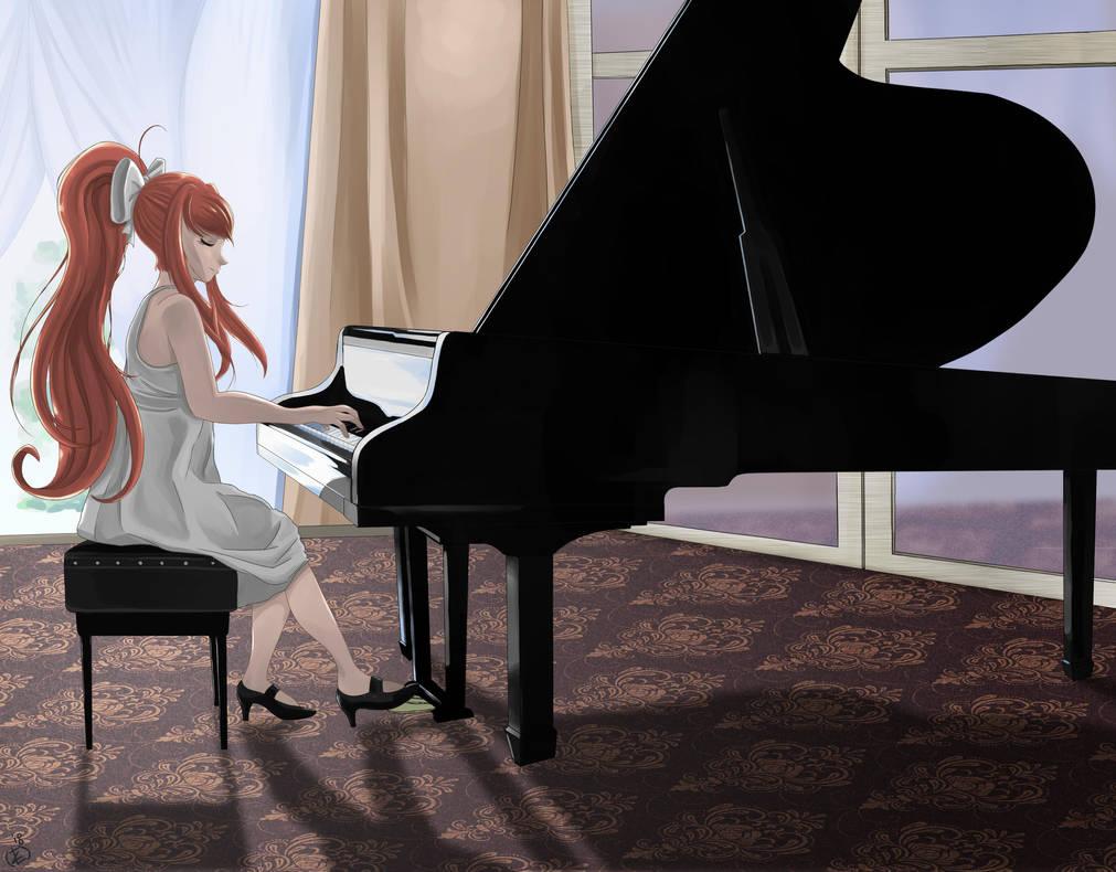 Just Monika by KingMetalZel