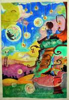 his imaginary world by kagurafuuko