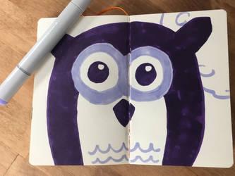 Night Owl by beowolfMN
