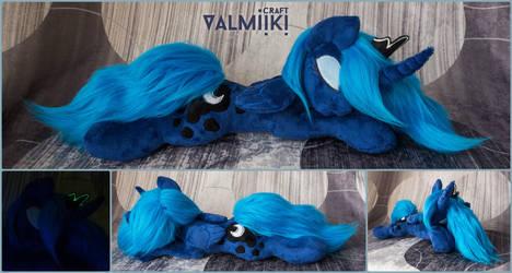 Sleeping Luna by Valmiiki