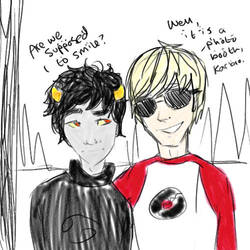 Karkat doesn't understand photos. by HeyitsKeating