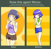 Meme: Before and After by Nohhuh