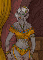 Tarnen lady for Stinohra by Lysandr-a