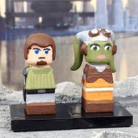 Star Wars Rebels - Hera and Kanan by herebewonder