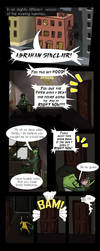 The Goblin and the Glitch pg 1 by NightShadered