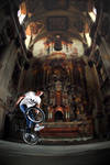 Patrik in churche by Dodo1