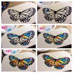 Butterfly Keepsake Box WIP by Murphy-Murphy