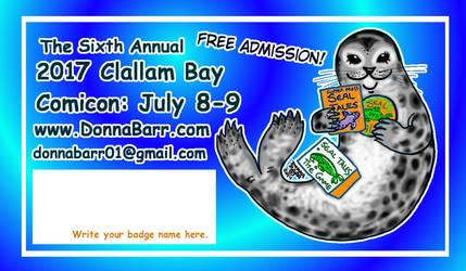 2017 Clallam Bay Comicon by DonnaBarr