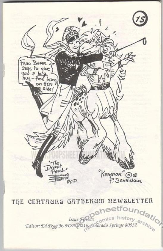 Poopsheet Centaurs Gatherum #15 by DonnaBarr