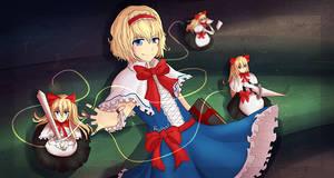 Alice Margatroid by Falldust