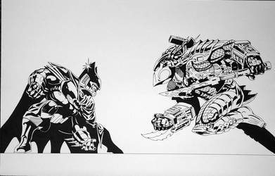 Batman VS Predator 1 by ESO2001