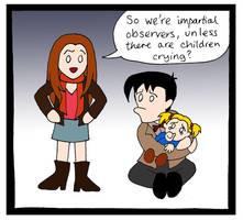 DW: Think Of the Children by blackbirdrose