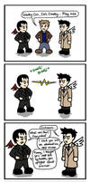 Cas... Meet Crowley. by blackbirdrose