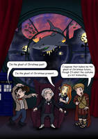 Doctor Who Fanzine Cover by blackbirdrose