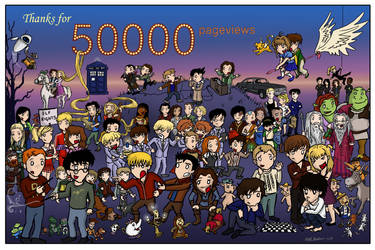 50000pv - THANK YOU by blackbirdrose