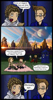 DW: Picnic at Asgard by blackbirdrose
