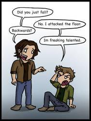 Dean Winchester's Freaking Talented by blackbirdrose
