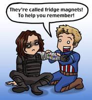 Steve + Bucky: To Help You Remember by blackbirdrose