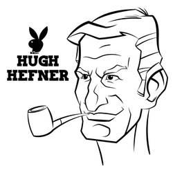 Hugh Hefner by mackie85