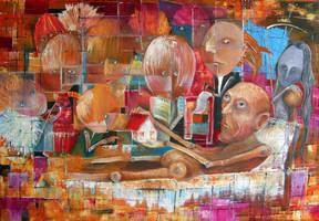 Descendants (or Heirs) by Monica-Blatton