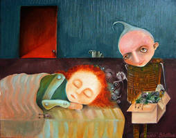 Bad Dreams Catcher by Monica-Blatton