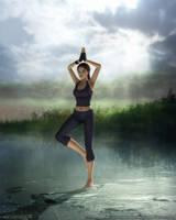 Yoga I by Cyberfish