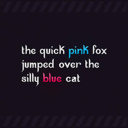 the quick pink fox by abdelghany